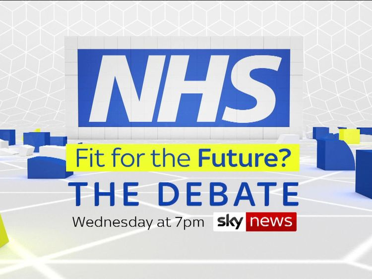 Show promo slate for NHS70 debate