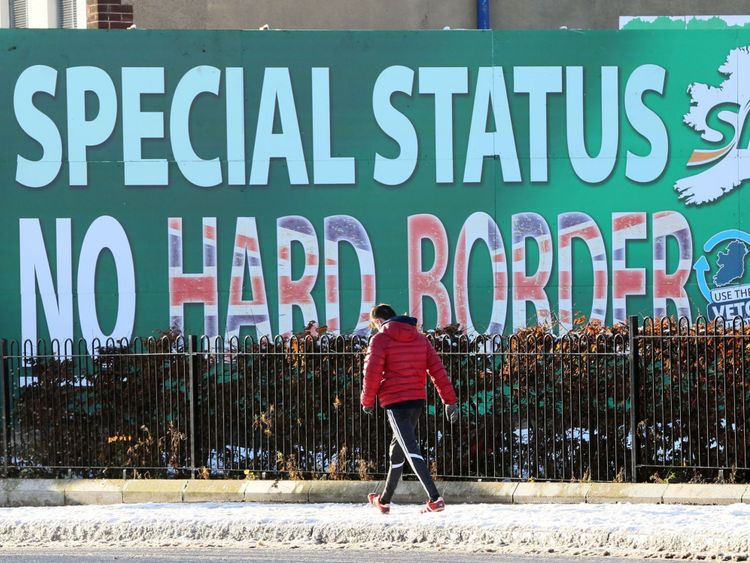 Britain may have to remain in the customs union to avoid a hard border