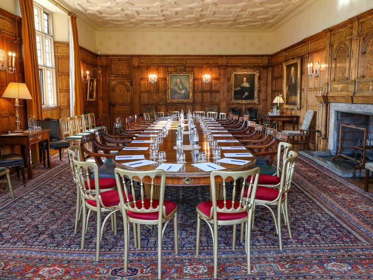 The stage is set for the meeting at Chequers