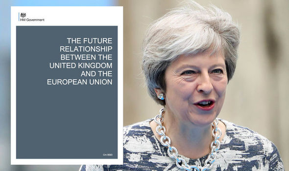 Brexit white paper - Theresa May