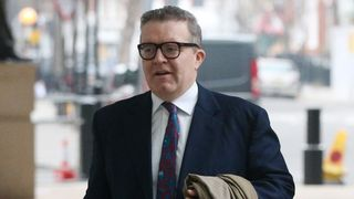 Deputy Labour leader Tom Watson arrives at BBC Broadcasting House