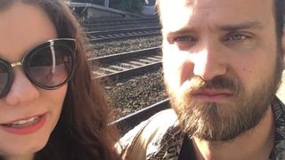 Northern Rail customers Ben and Hayley filmed their commute to Manchester Piccadilly