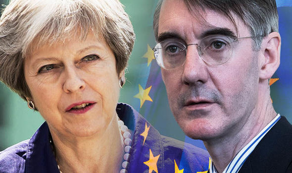 Theresa May thwarted Brexit Tory rebels