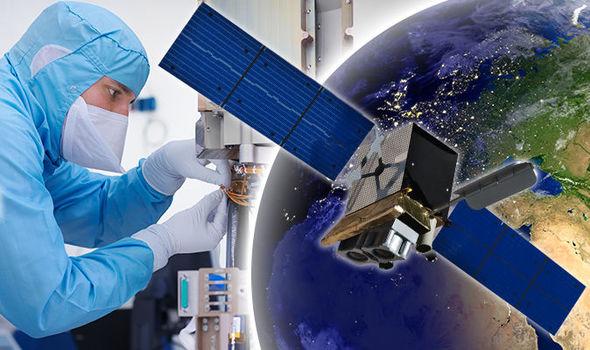 British satellite