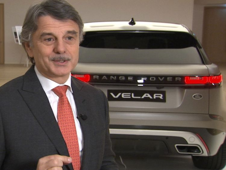 Dr Ralf Speth is chief executive of Jaguar Land Rover