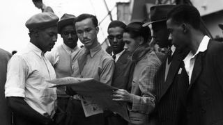 West Indian residents arrived in Britain after the Second World War