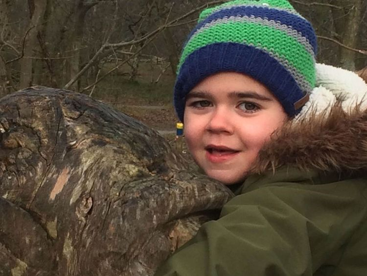 Undated family handout photo issued by Maggie Deacon of Alfie Dingley, MPs have called on the Home Secretary to issue a medical cannabis licence to the six-year-old whose rare form of epilepsy improves after taking the drug