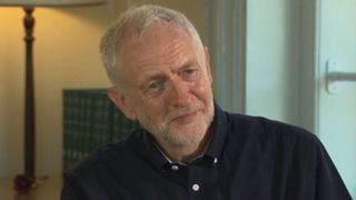Jeremy Corbyn talking to Sky's Sophy Ridge ahead of NHS' 70th birthday