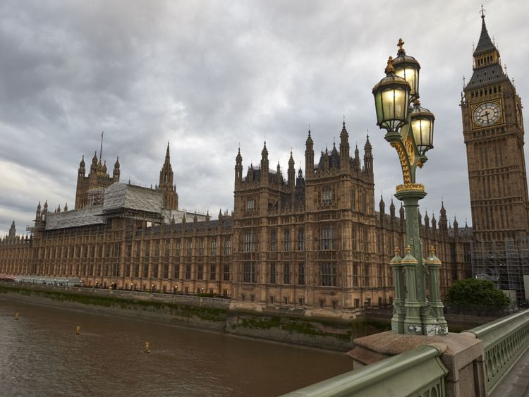 Houses of Parliament from Westminster Bridge