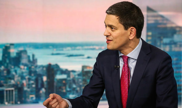 David Miliband hit out at the Labour leader