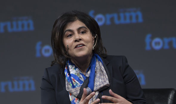 Baroness Warsi accused Boris Johnson of bigotry
