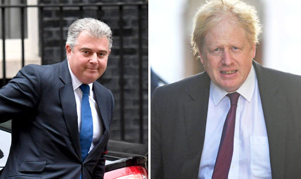 Brandon Lewis has asked Boris Johnson to apologise for the comments