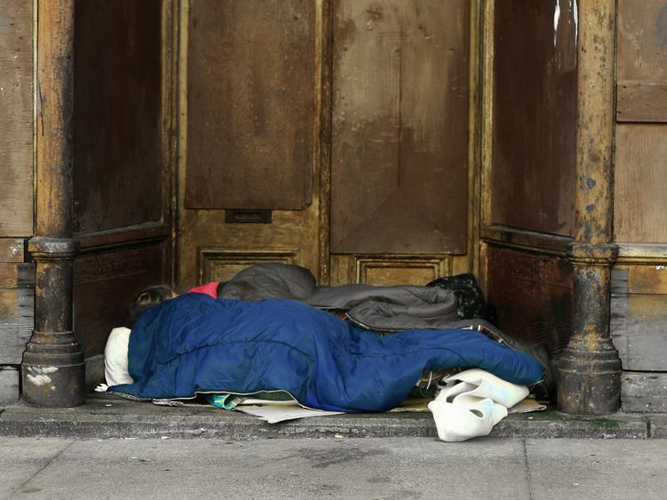 The Rough Sleeping Strategy will offer mental health and addiction support