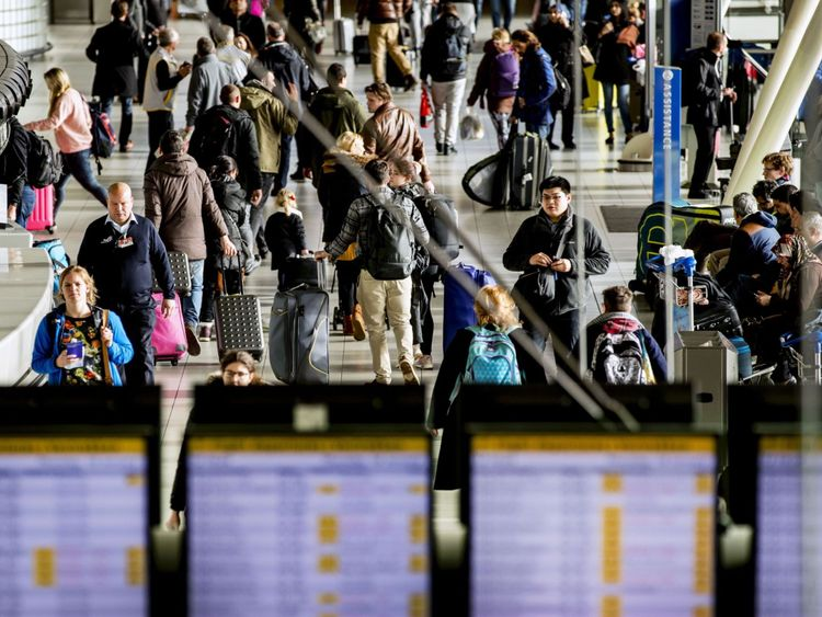 Passengers across Europe face delays after a computer failure