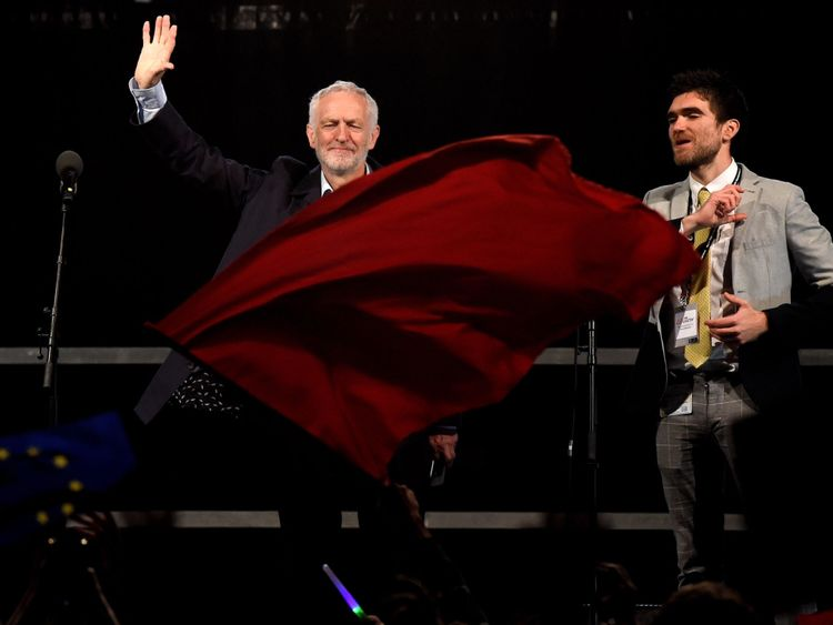 Labour's official slogan for the conference is 'Rebuilding Britain, for the many, not the few'