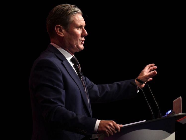 Sir Keir Starmer will accompany Mr Corbyn on the trip