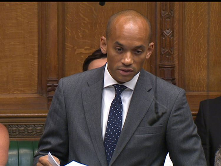Labour's Chuka Umunna calls for a public inquiry into 'Vote Leave' campaign