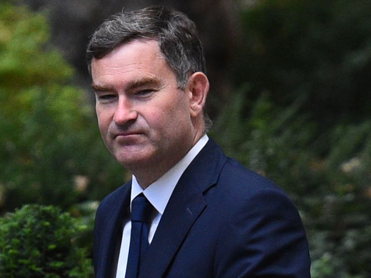 Justice Secretary, David Gauke, arrives in Downing Street