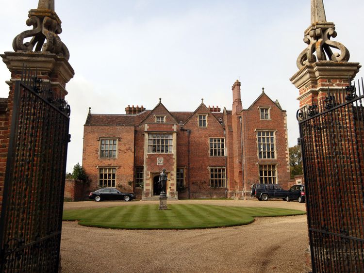 Chequers is the Prime Minister's official country residence