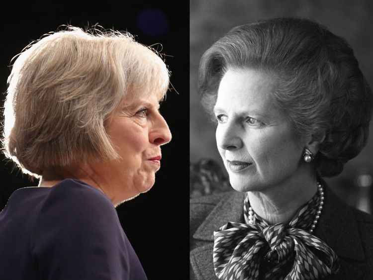 Margaret Thatcher and Theresa May are the UK's only female prime ministers
