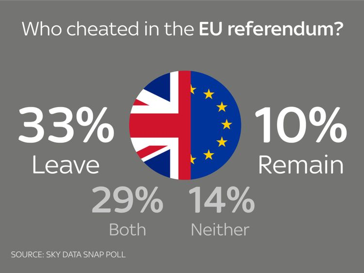 Who cheated in the EU referendum?