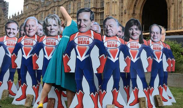 Brexit Tory rebels Avaaz