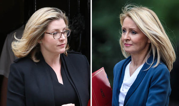 Penny Mordaunt and Esther McVey