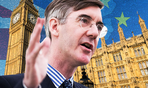 Jacob Rees Mogg and Peter Madelson