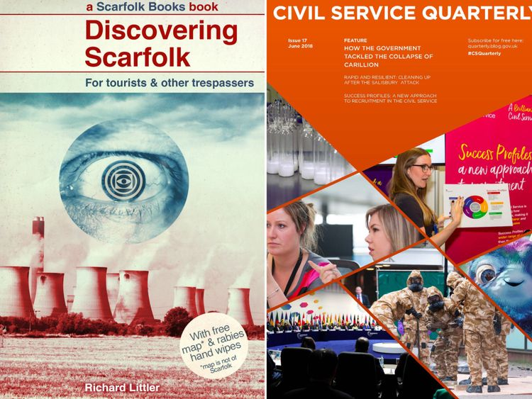 The satirical 1970s dystopia of Scarfolk ended up in Civil Service Quarterly