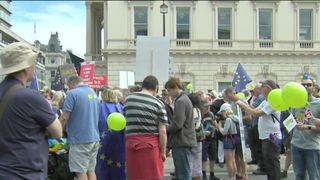 Organisers of the People's Vote march expect thousands of anti-Brexit supporters to descend on Parliament Square