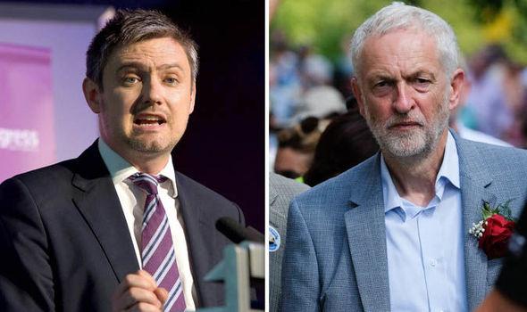 John Woodcock and Jeremy Corbyn