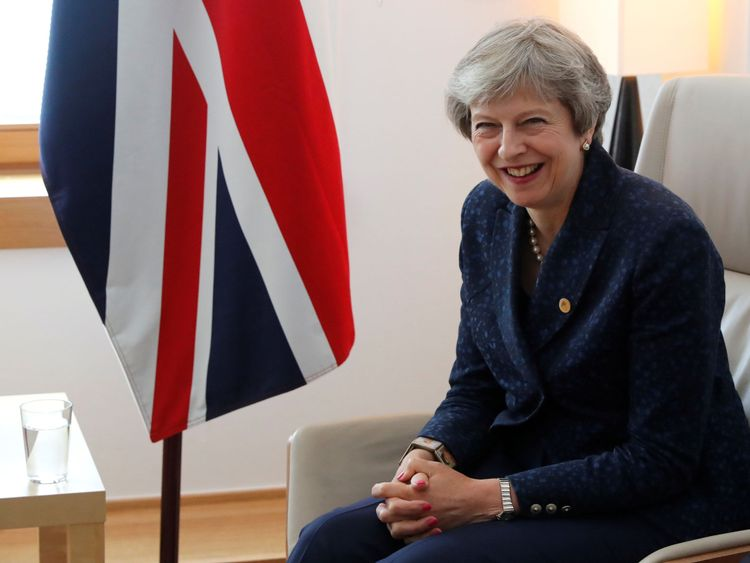 Theresa May left Brussels early on Friday morning