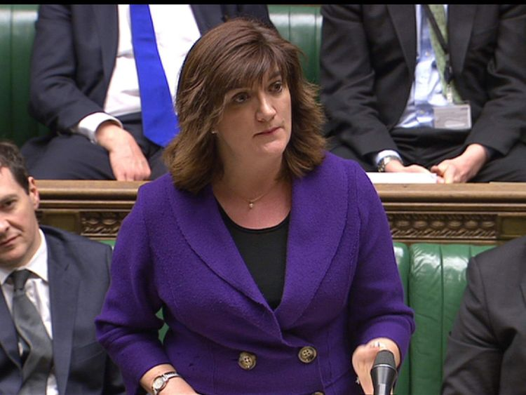 Education Secretary Nicky Morgan MP