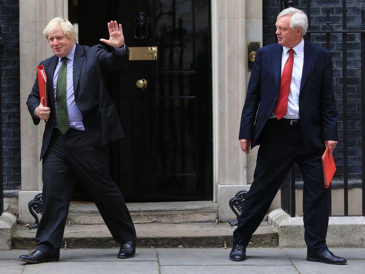 Boris Johnson and David Davis have both resigned