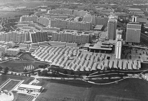 1972 Olympic village