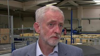 Corbyn was present at wreath-laying memorial