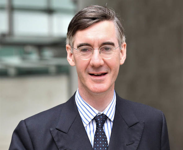 Jacob Rees-Mogg, the chairman of the European Research Group