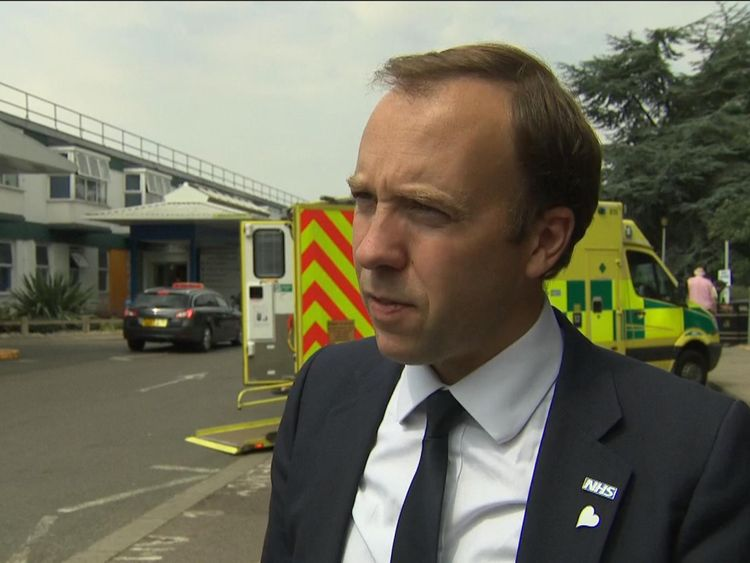 Health Secretary Matt Hancock on the NHS charm offensive.