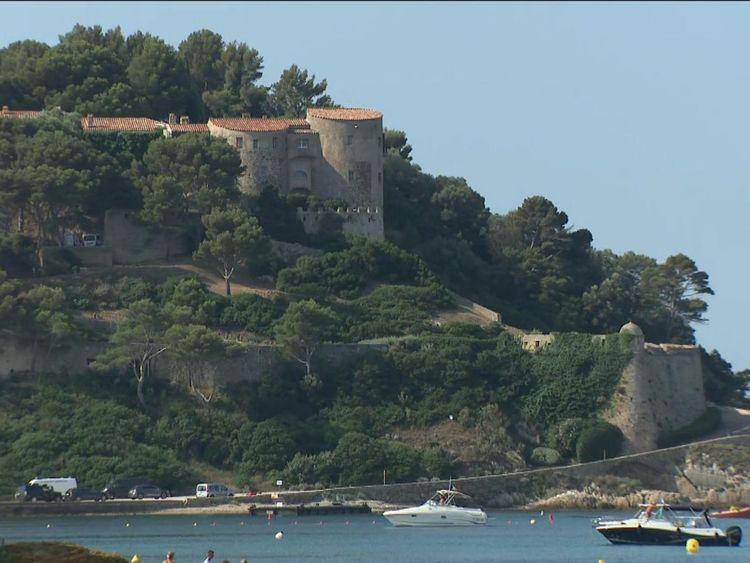 Fort de Bregancon, the French president's summer getaway
