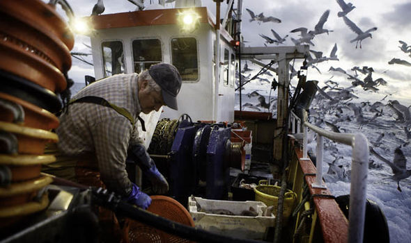 Brexit news: A British fisherman on a boat