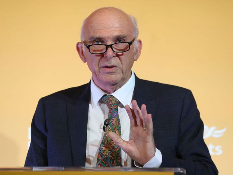 Sir Vince Cable said he did not want to serve into his 80s