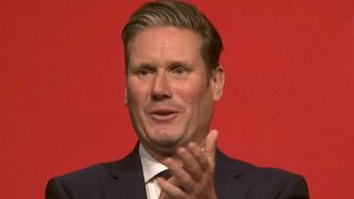 Sir Keir Starmer delivers a well-received speech at the Labour conference