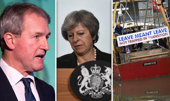 Brexit news: Owen Paterson MP, Theresa May and fishermen protesting