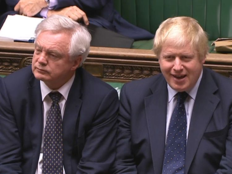 Brexiteer ministers led by David Davis and Boris Johnson believe the PM's plan is 'not acceptable'