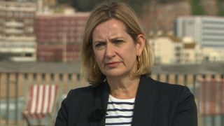 Former home secretary Amber Rudd has backed proposals for TV debates betwen the main party leaders